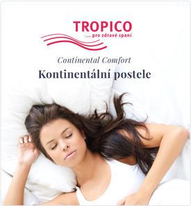 Kontinentální postele Tropico